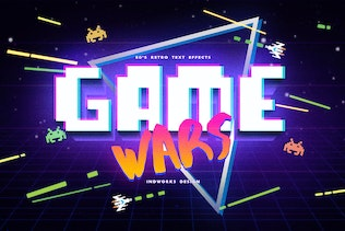 80's Retro Text Effects vol.1 - 2