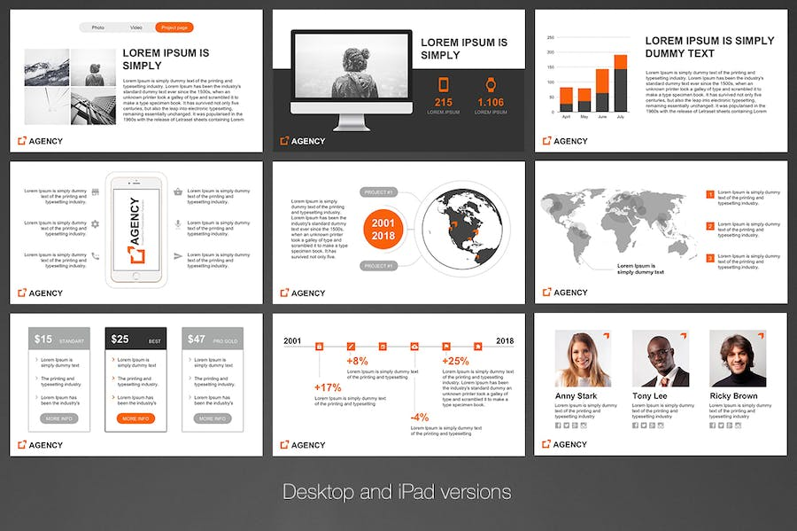 Agency PowerPoint Template - 2