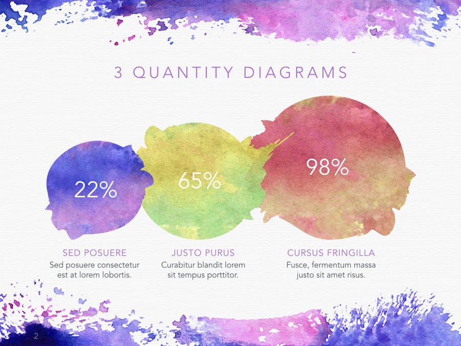 Watercolor PowerPoint Template - 0