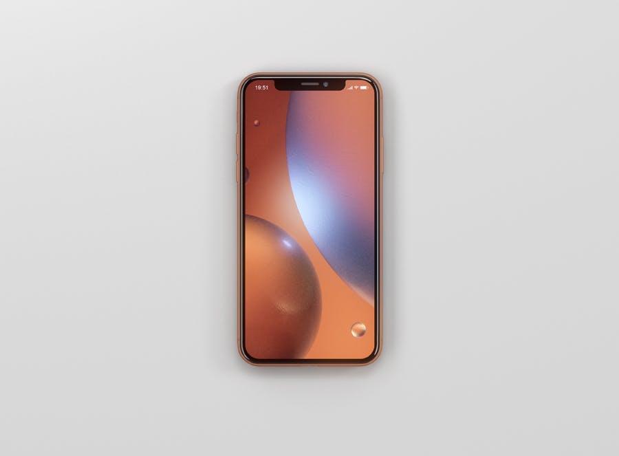 Phone XR Mockup - 3