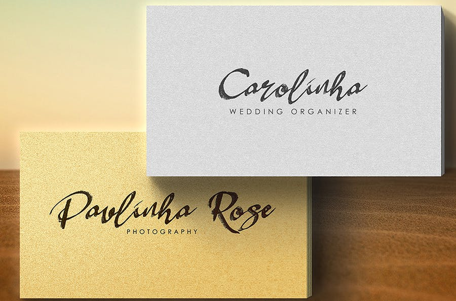 Claudhia & Jhelio Brush Font Duo  - 1