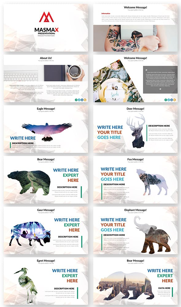 Masmax Powerpoint Template - 1