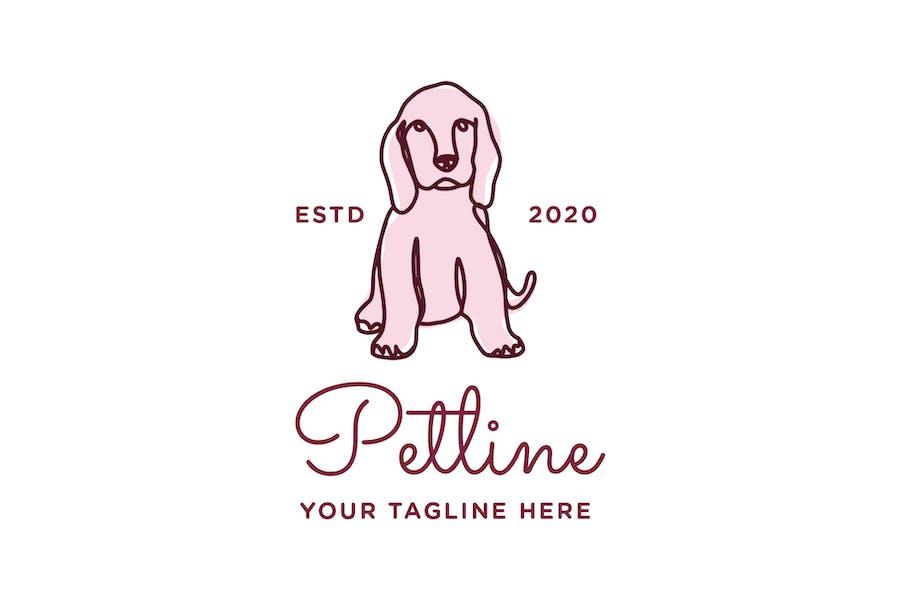 Petline Logo Template - Dog - 0
