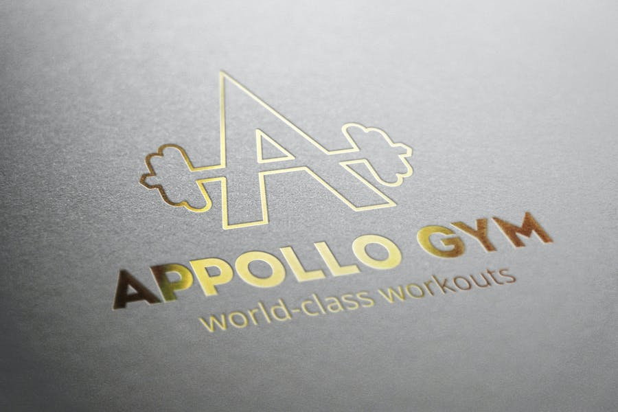 Appollo Gym Logo - 2