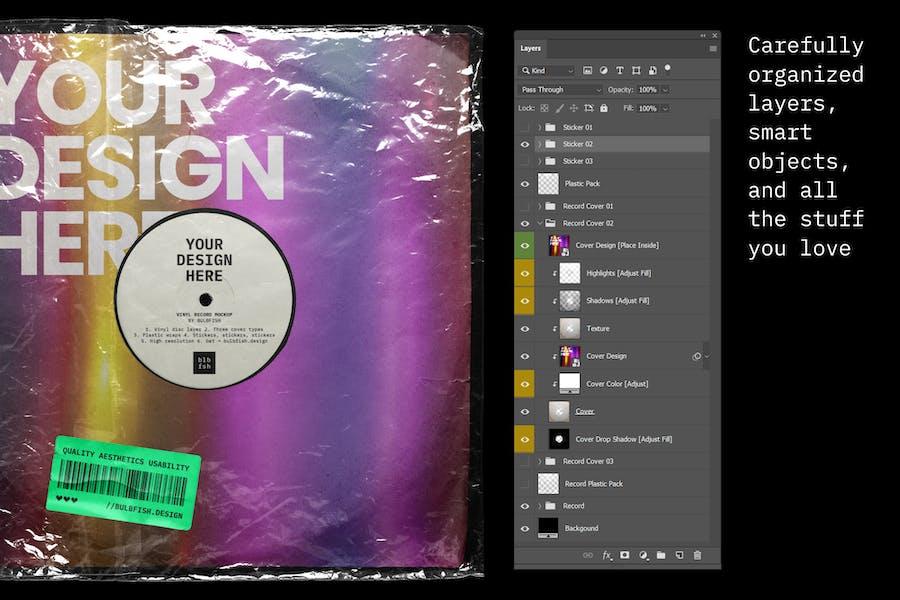 Vinyl Record Mockup - 2