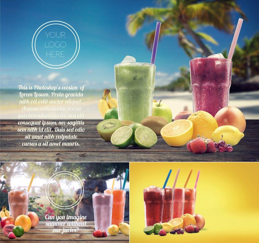 Organic Juice Maker Scene Generator - 2