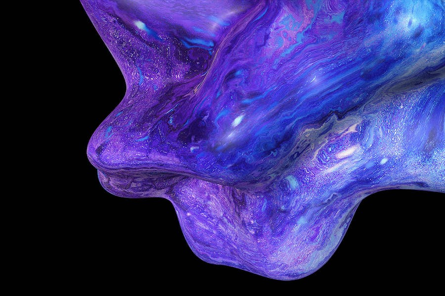Liquid Shapes Backgrounds - 3