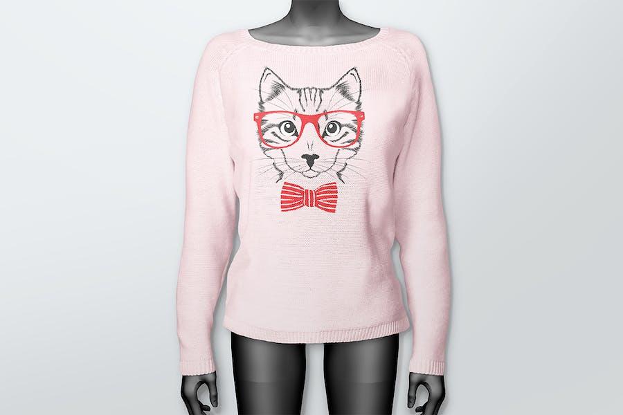 Women's Sweater Mockups - 2