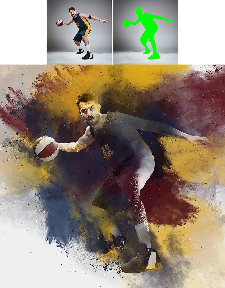 Dust Photoshop Action - 2