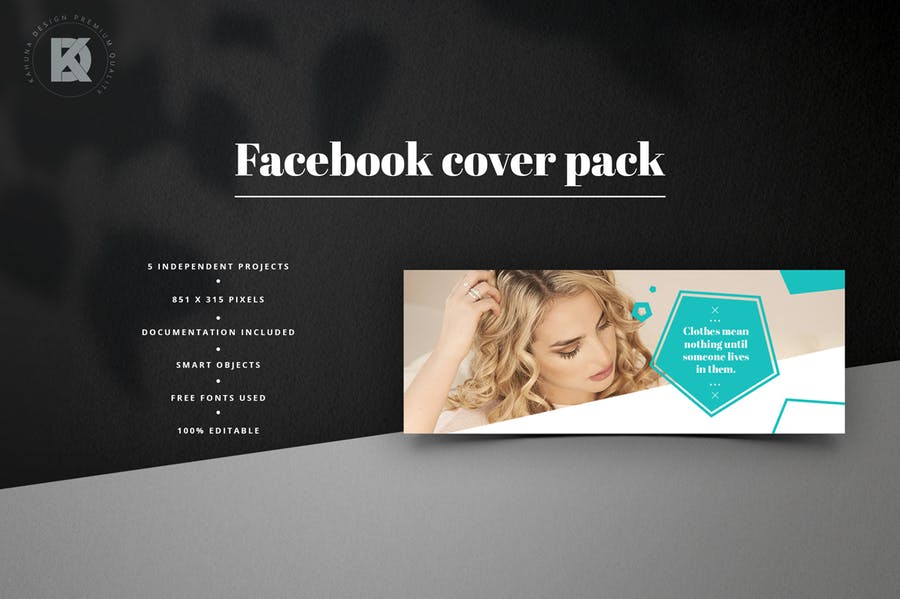 Fashion Facebook Pack - 1