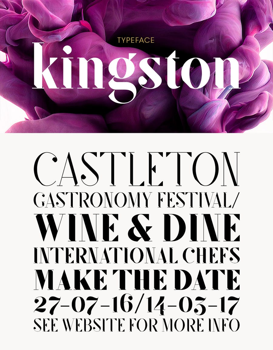 SF Kingston | Font - 0