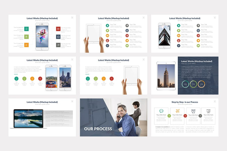 Startup Keynote Template - 3