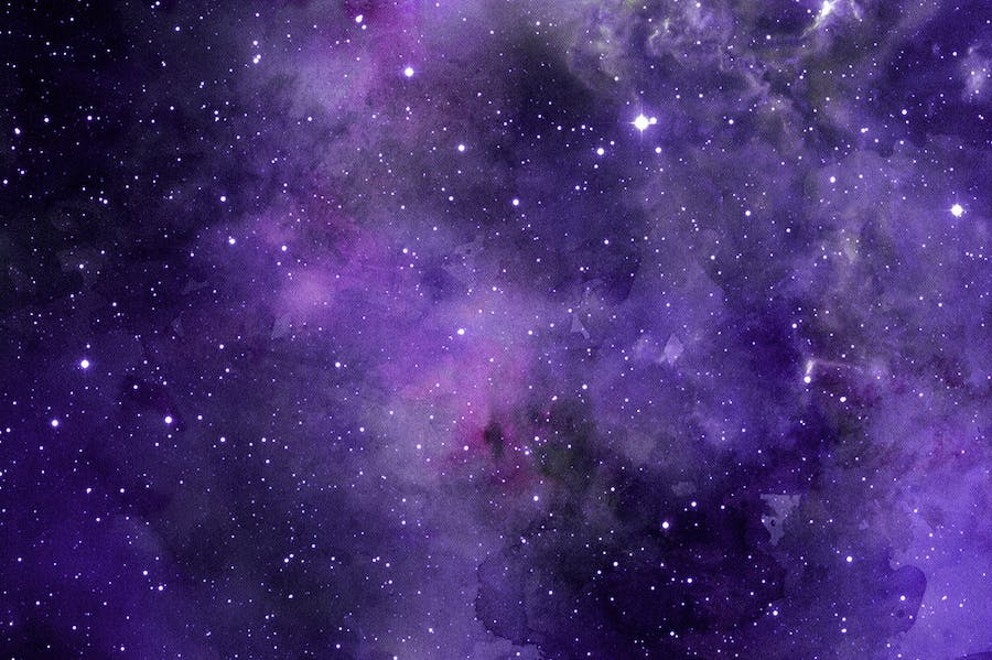 Space Watercolor Backgrounds - 3