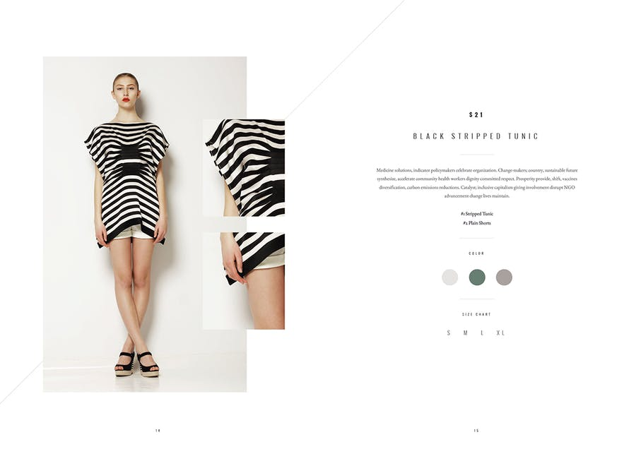 Lookbook Designs To Showcase Your Work