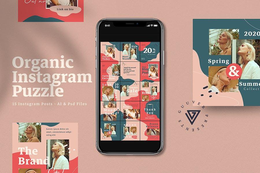 Organic Instagram Puzzle Post - 0