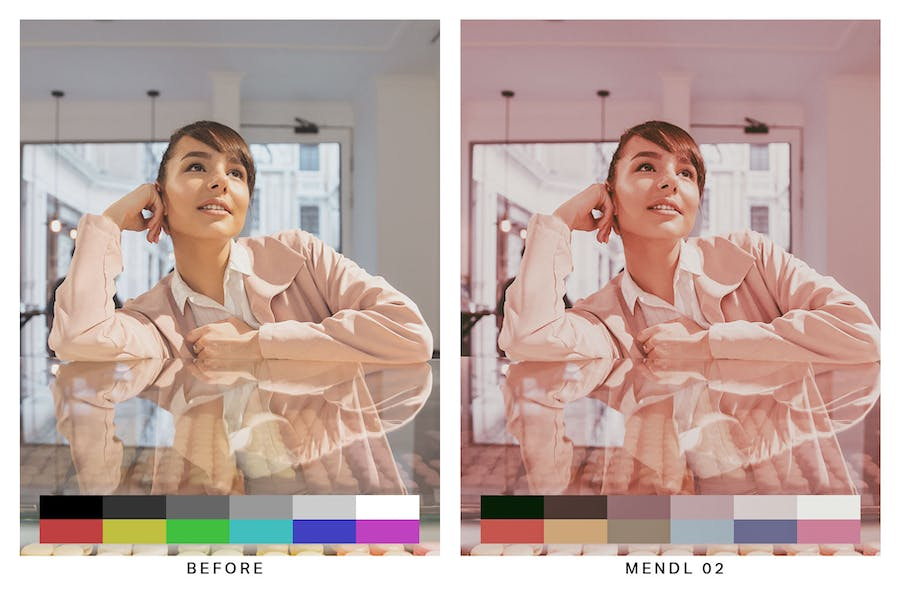 50 Budapest Pink Lightroom Presets and LUTs - 3