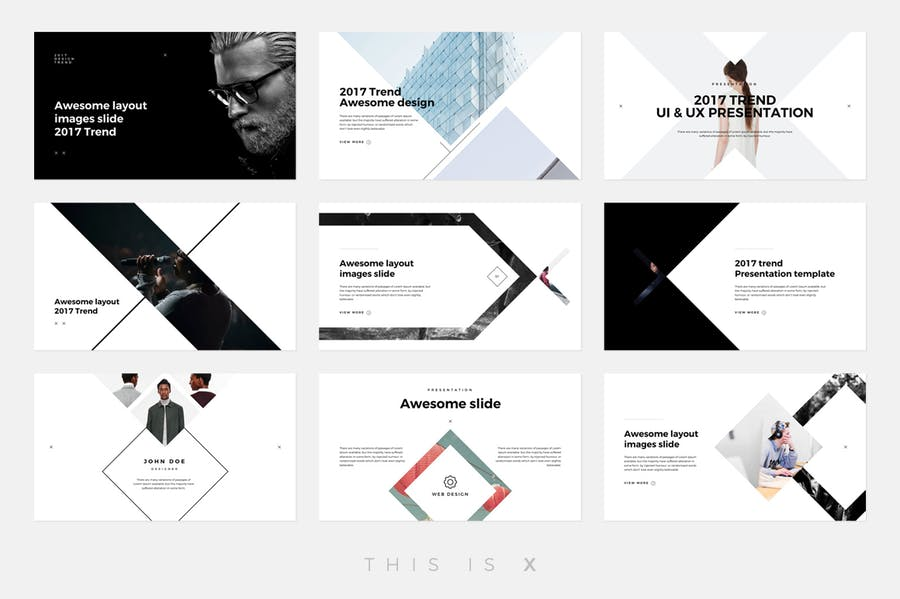 The X - Powerpoint Template - 2