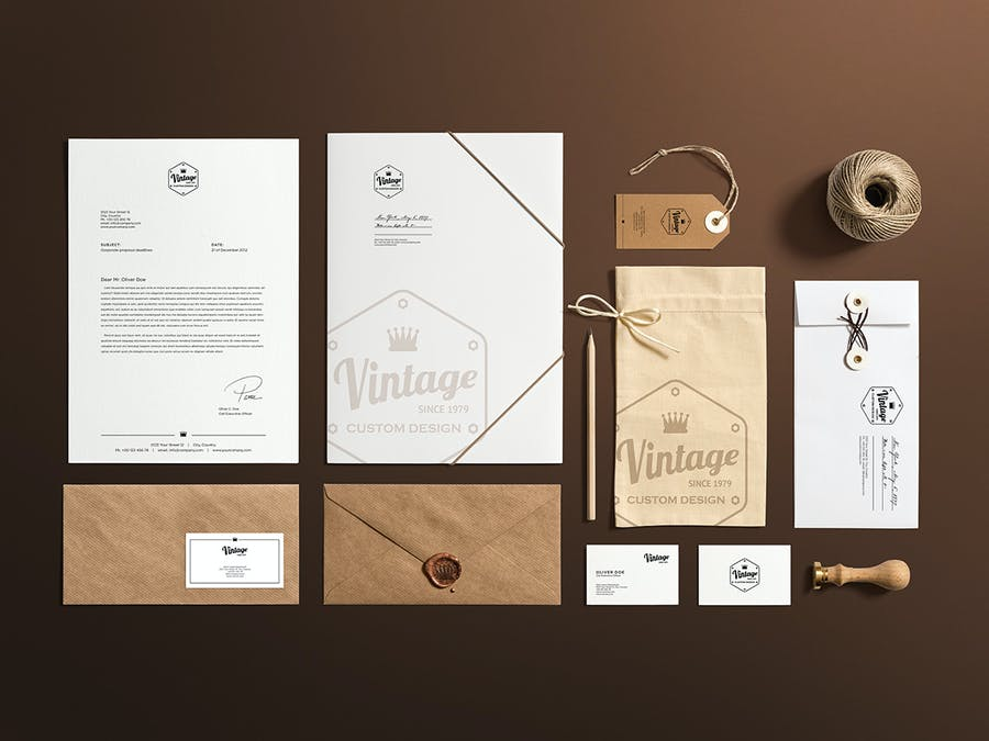 Craft Branding Mockup - 1