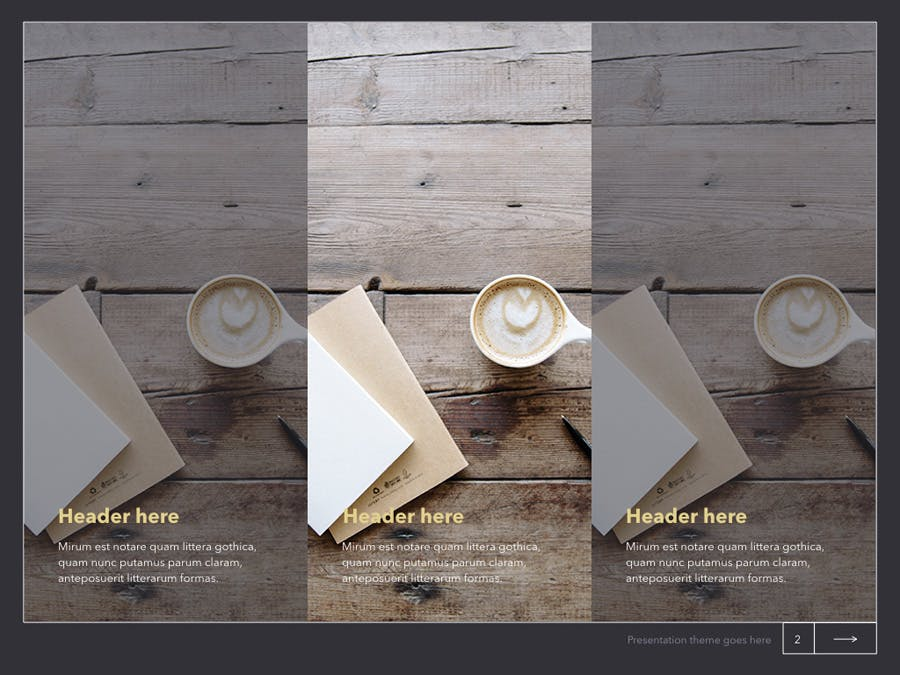 Latte Keynote Template - 1