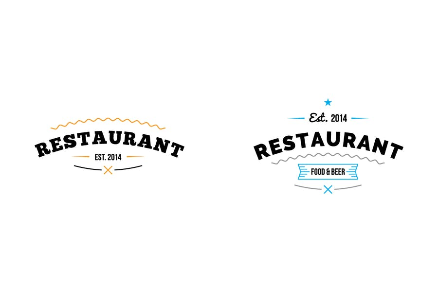 Restaurant Logo Templates - 1