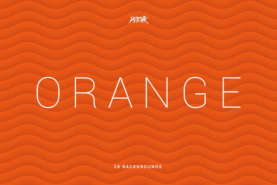Orange | Soft Abstract Wavy Backgrounds - 0