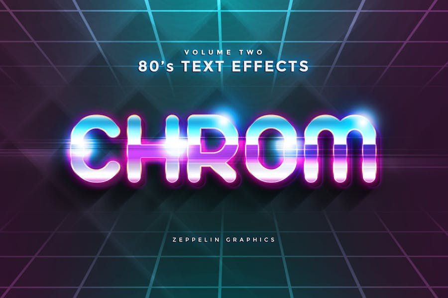 80s Text Effects Vol.1 - 0