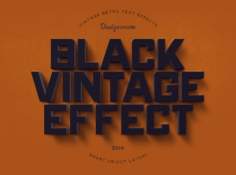 14 Vintage Retro Text Effects - 3