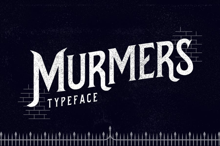 Murmers Typeface - 0
