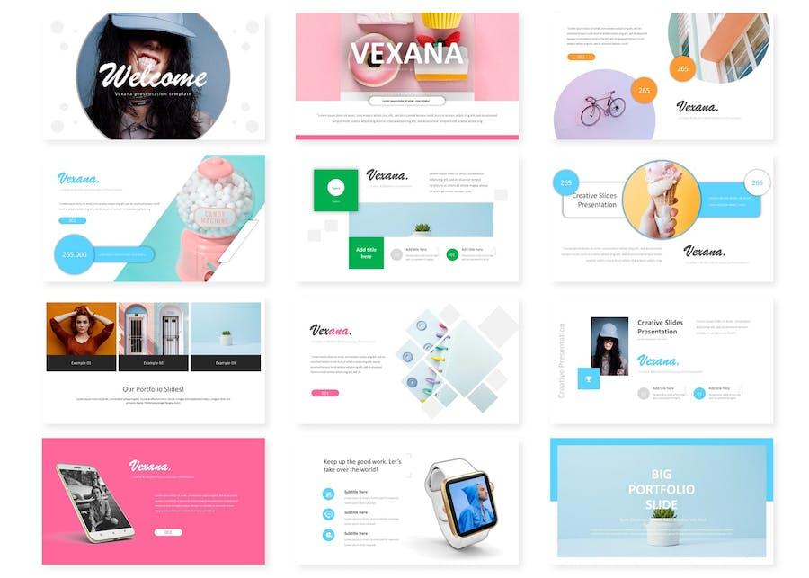 Vexana - Google Slide Template - 0