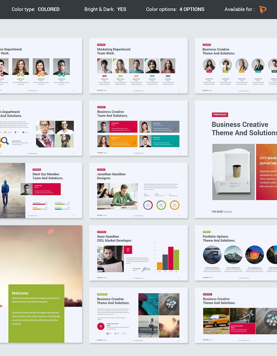 Buxe Creative & Multipurpose Template - 2