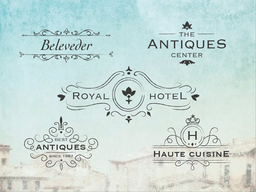 Antique Logos - 0