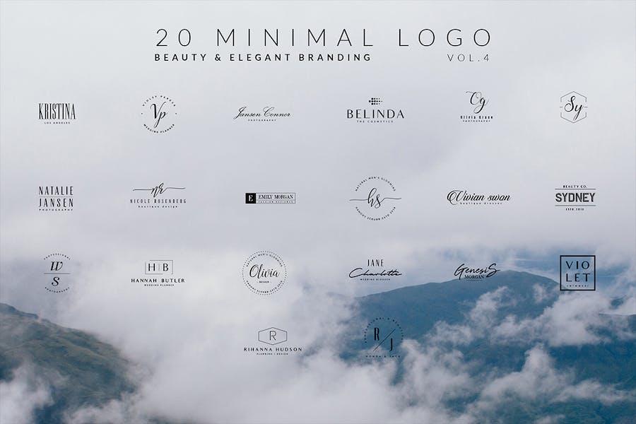 100 Minimal logos - 3