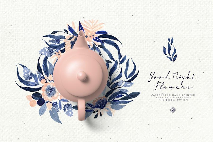 Good Night Flowers - 3