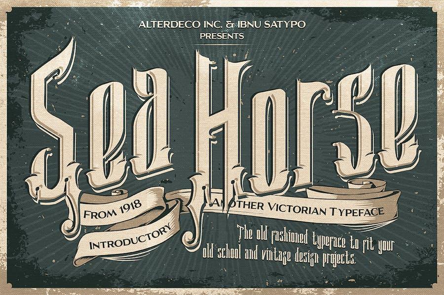 Sea Horse Typeface - 0