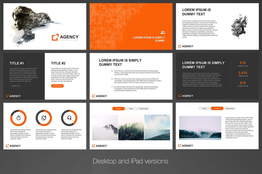 Agency PowerPoint Template - 1