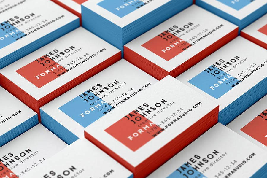 Business Cards Mockups Pack - 1