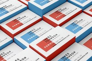 Business Cards Mockups Pack - 1