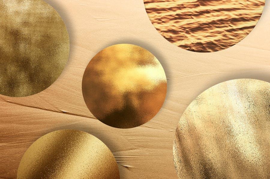 50 Gold Textures - 1