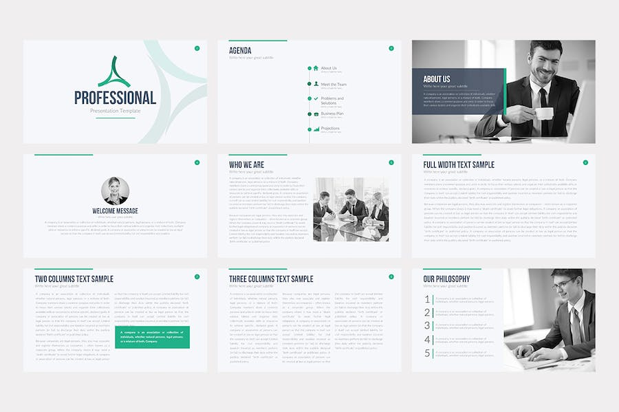 Professional Keynote Template - 0