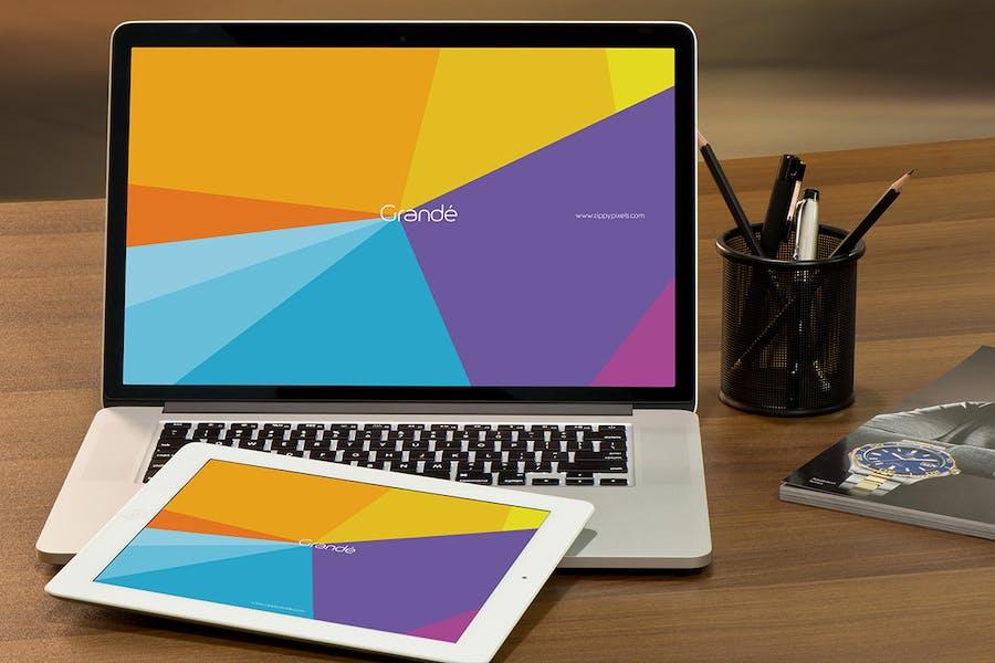 MacBook Mockups - 1