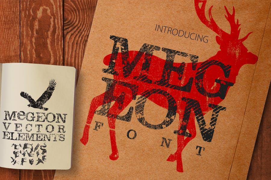 Megeon Font - 0