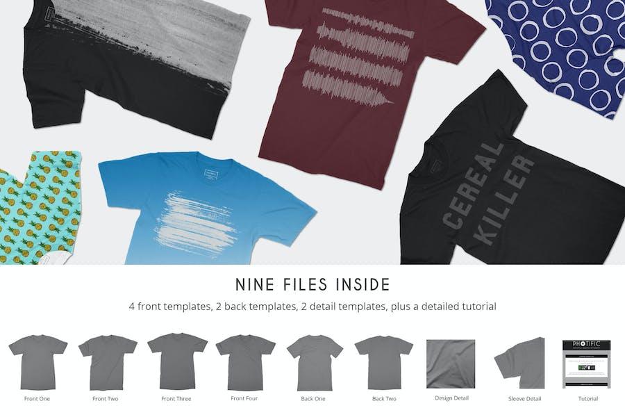T-Shirt Mockups - 0