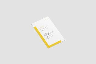 Portrait Business Card Mockup - 2