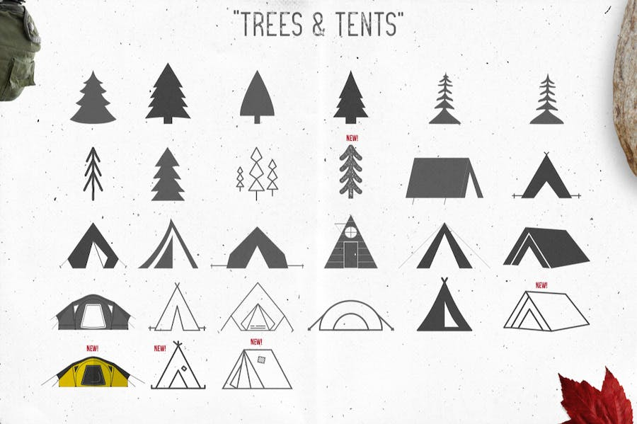 Logo Template Creation Kit - Camping Edition - 2