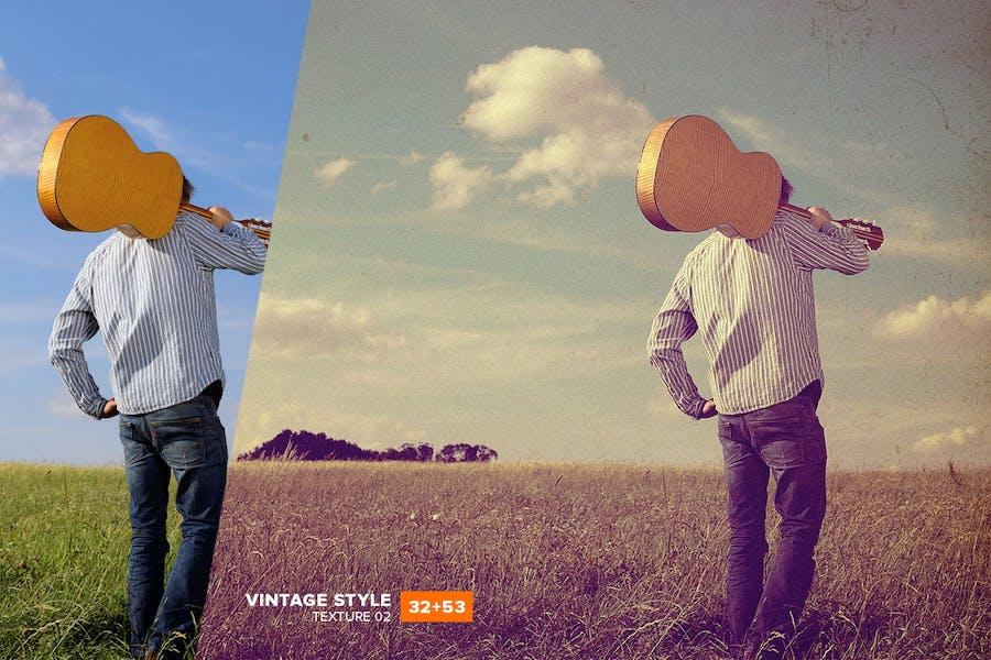 SoVintage Photoshop Action - 1