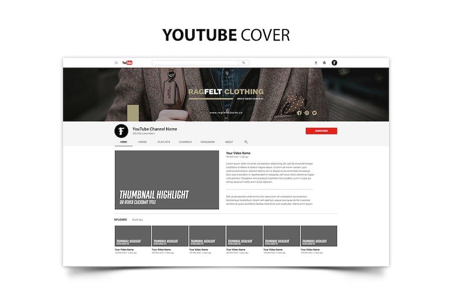 Ragfelt Man Fashion Youtube Cover - 0
