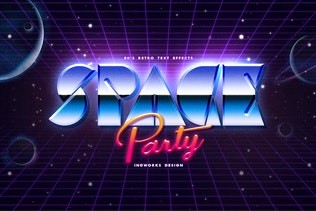 80's Retro Text Effects vol.1 - 3