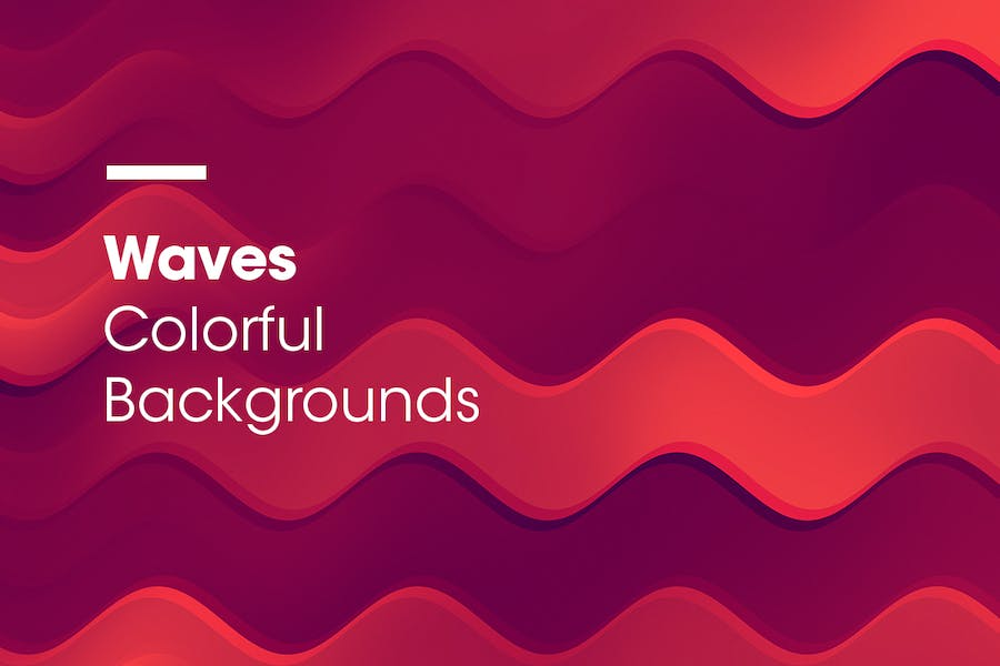 Waves | Colorful Backgrounds - 2