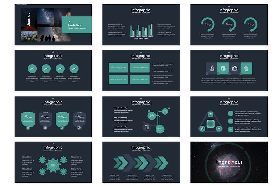 Space Journey - Powerpoint Template - 3