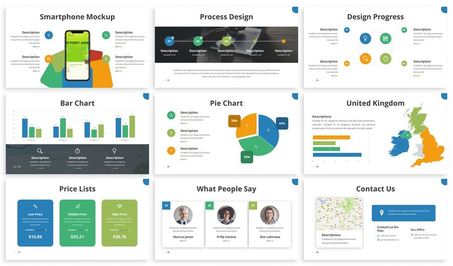 Odama - Multipurpose Powerpoint Template - 2
